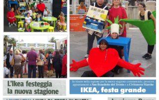 Cliente: Ikea - Eventi itineranti in piazza